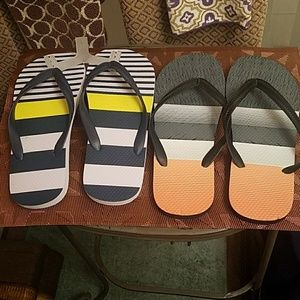 Other - Men's Colorful Fashion Flip-Flops